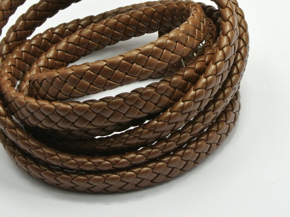 15M Coffee Flat Braided Bolo Synthetic Leather Cord 10X4mm craft decorative rope pathwork accessories bead roll hand tablet DIY(China (Mainland))