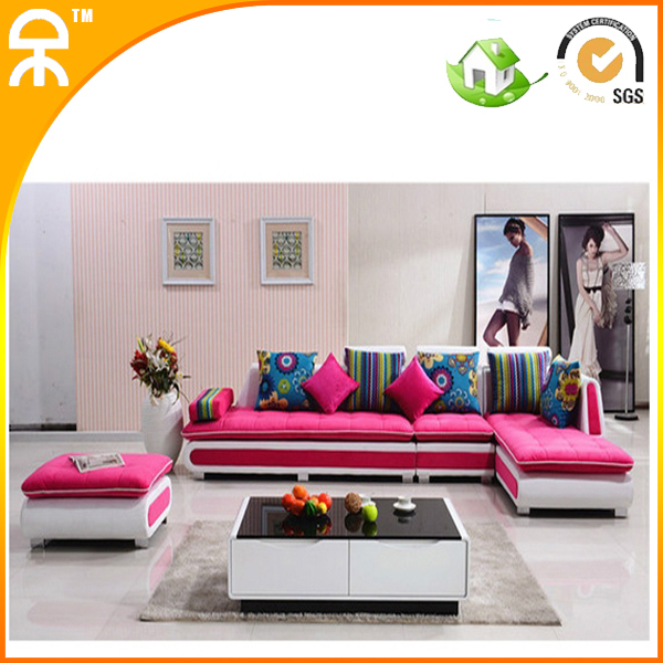 Buy colorful fabric sofa couch for living for Colorful living room furniture