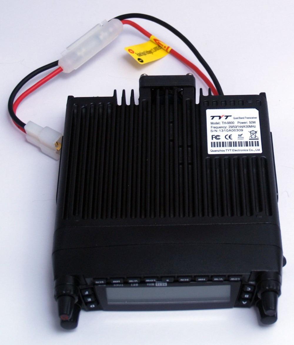 Четыре диапазона радио tyt th-9800, 29 / 50