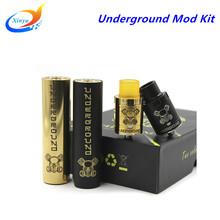 Buy Electronic cigarette Underground Kit vape mod mechanical huge vapor mod RDA E Cigarette 2 Colors fit 18650 Battery for $22.90 in AliExpress store