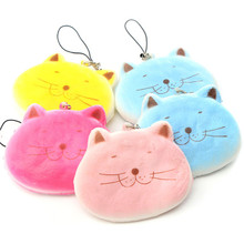 Beautiful Design 8CM Kawaii Cartoon Fat for Cat Face Adorable Squishy Bread Keychain Bag Phone Charm Strap(China (Mainland))