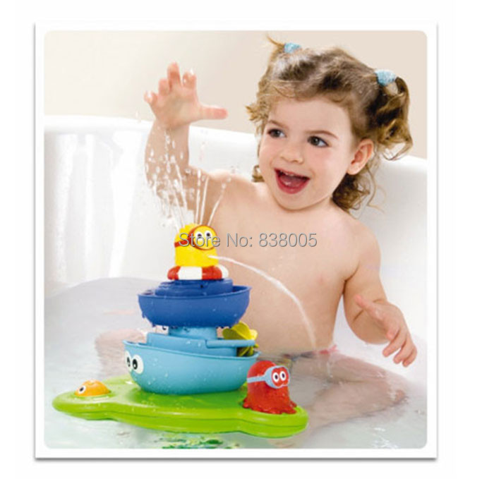 ,2014 baby toy bath toys play taps/buttressed music spray shower electronic water - ALian Store store