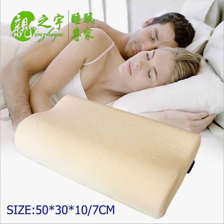 Neck Pillow for Adults Slow rebound memory foam Pillow Dunlopillo Pillow Cervical Good Sleeping Adult bedding neck pillow 32R(China (Mainland))