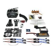 F14893-J DIY RC Drone Quadrocopter Full Set X4M380L Frame Kit QQ Super AT9 TX RX