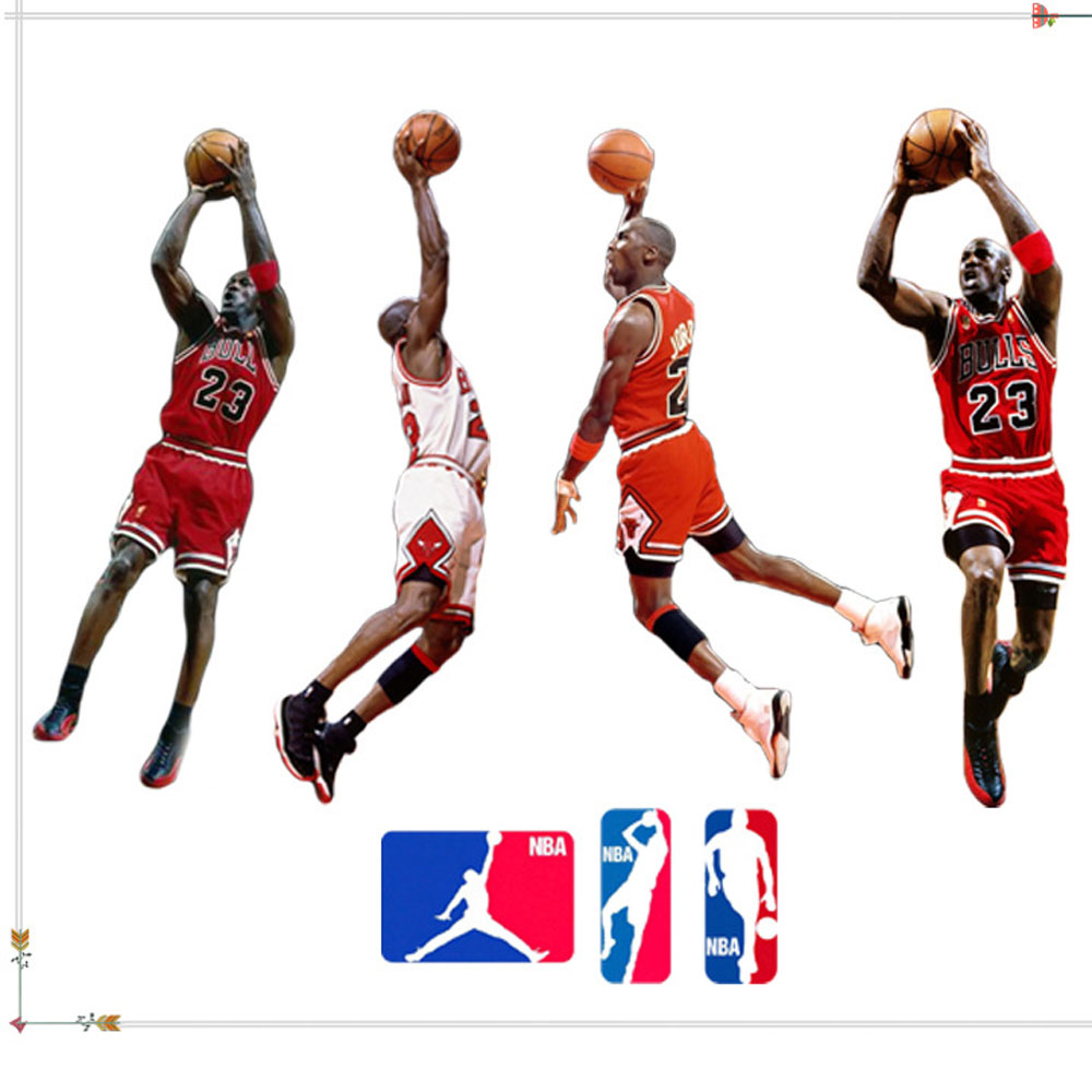 Nba Wall Decals Promotion-Shop for Promotional Nba Wall ...