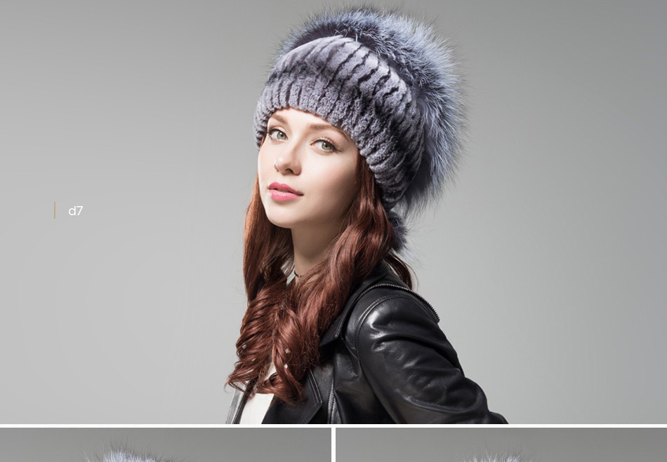 fur hat female winter PCM006 (19)