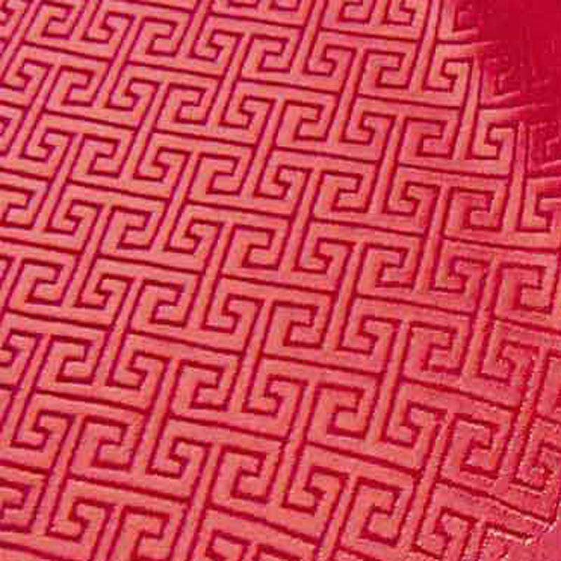 """br-629 Red on Red Maze Chinese Brocade Fabric Material by The Meter 35""""W Jacquard Embroidered Patterned Asian(China (Mainland))"""