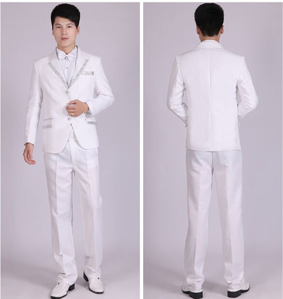 Servicio blanco trajes
