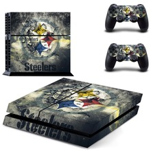 Steelers Ps4 skin 1 Set Super Heroes Decal Skin Sticker For Playstation 4 PS4 Skin Sticker