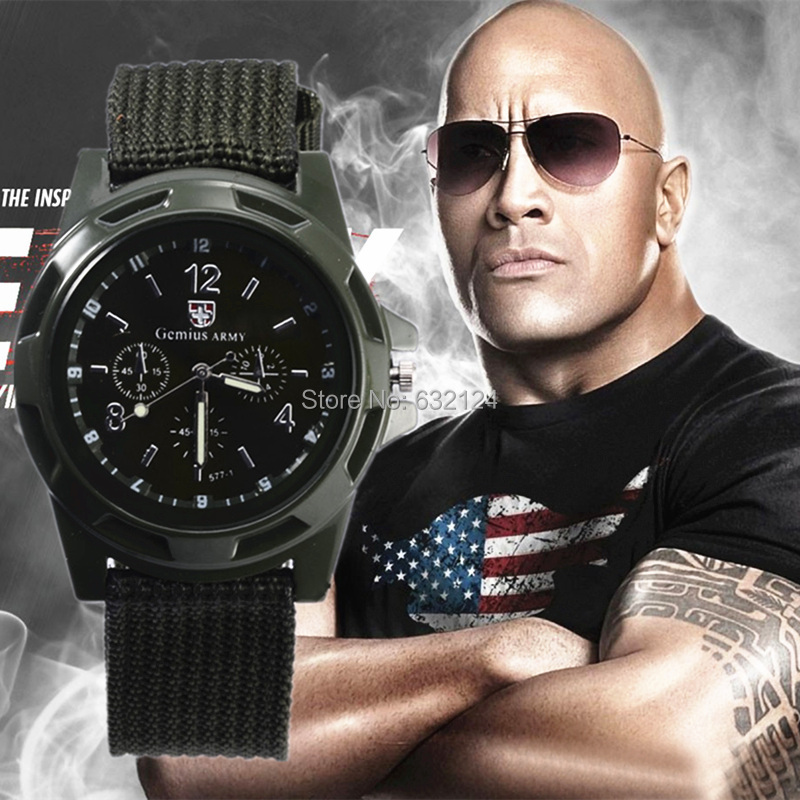 2015 Men Watches New Military Quartz Sport Watch Canvas Strap Fabric Fashion Soldier Ourdoor Running Wristwatch Clock Hot Sale(China (Mainland))