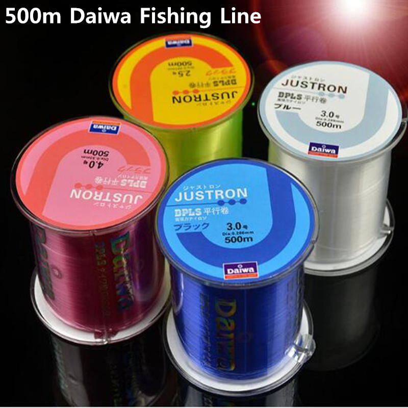 Z60 Fishing Line Japan Durable Monofilament Rock Sea 500m Nylon Fishing Line Daiwa Series Thread Bulk Spool All Size 0.4 to 8.0(China (Mainland))