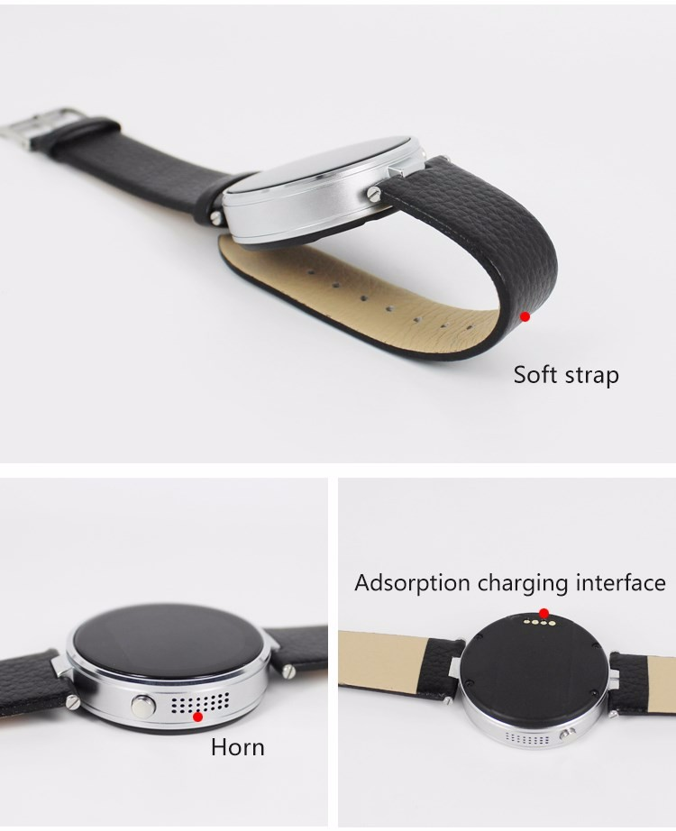 ถูก Finefun dm365บลูทูธสมาร์ทอัตราการเต้นหัวใจจอภาพpedometersนอนเพลงซิงค์โทรsmart watchเหมาะสำหรับios a ndroid