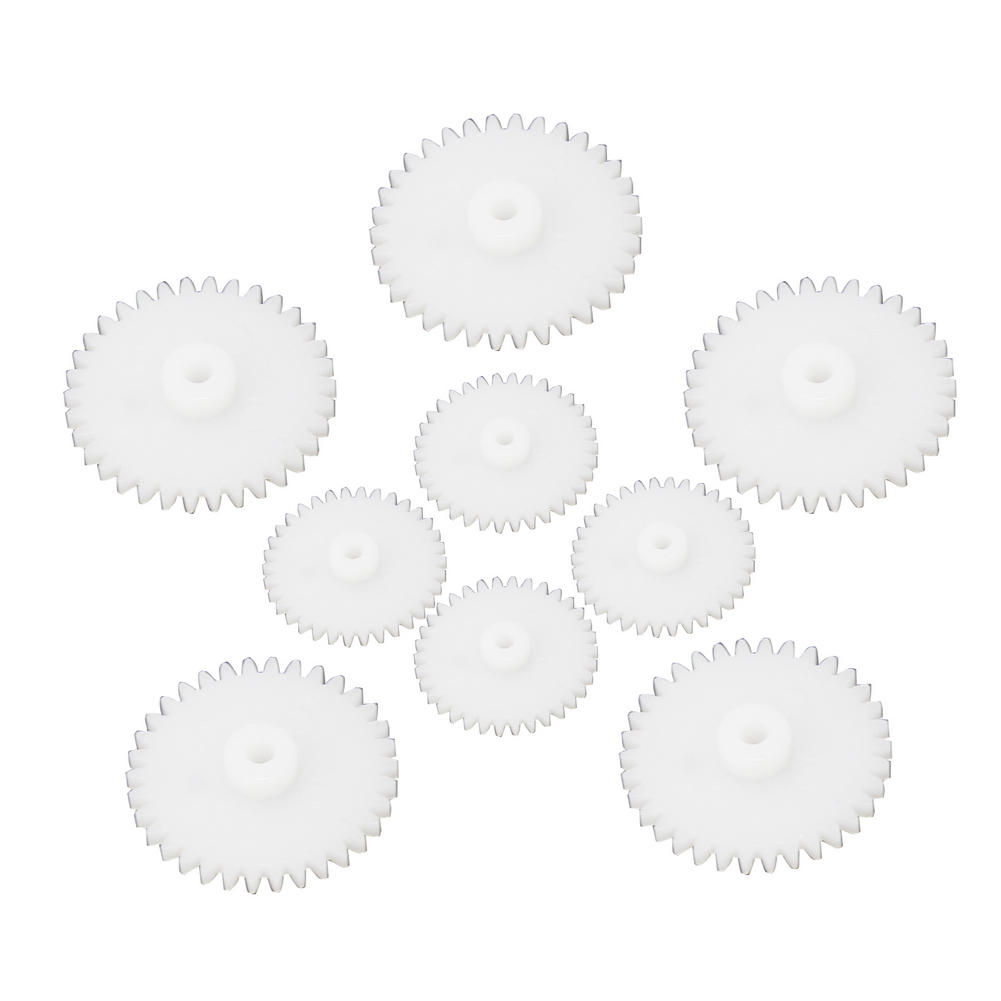 Newest Hot Applied 58 Pcs Plastic Gears Module Robot Parts Accessories For DIY 4-29mm(China (Mainland))