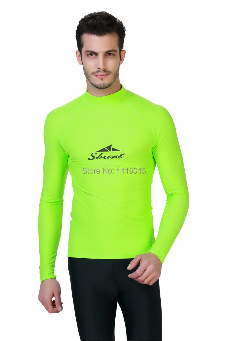 Mens Rash Guard Swim Shirts