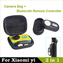 Bluetooth Remote Controller 4.1 For Xiaomi yi Remote Shutter For Xiaomi yi Camera Bag Case For Xiaomi yi Action Camera