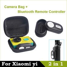 Bluetooth Remote Controller 4.1 For Xiaomi yi Remote Shutter For Xiaomi yi Camera Bag Case For Xiaomi yi Action Camera