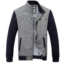 2014 New Style Autumn Winter Good Quality Pure Polyester Fashion City Handsome Patchwork Male Casual Jacket