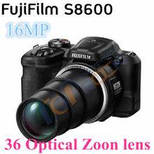 2016 Fujifilm FinePix 36x Optical Zoom Lens Telephoto Digital Camera Fuji s8600 16MP Wide-angle Sport HD Video Recording(China (Mainland))