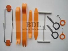 12pcs Car Door Interior Plastic Trim Panel Dashboard Installation Removal Pry Stereo Refit Tool Kit(China (Mainland))