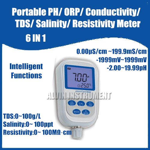 Function Of Conductivity Meter : Online buy wholesale ph salinity monitor from china