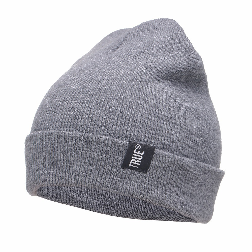 Letter-True-Casual-Beanies-for-Men-Women-Fashion-Knitted-Winter-Hat-Solid-Color-Hip-hop-Skullies