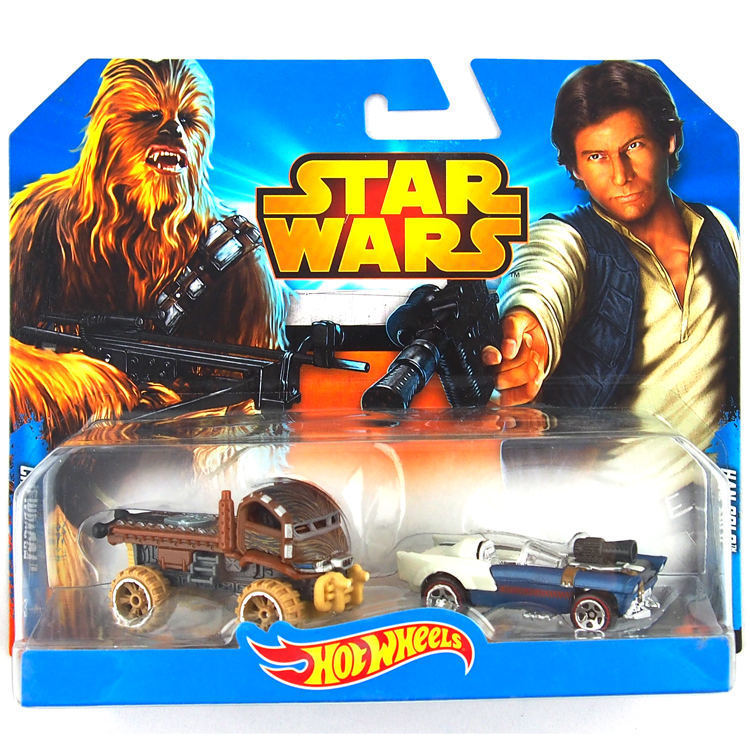 Authorized sales 2 pcs/set Hot Wheels Star Wars Series kids toys Model CGX02-1 Plastic metal miniatures classic collectible toy(China (Mainland))
