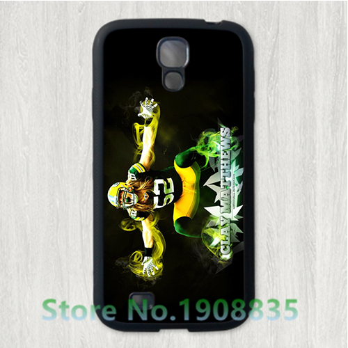 Clay Matthews green bay packers phone case cover for Samsung Galaxy S3 S4 S5 s6 s6 edge s7 s7 edge note 3 note 4 note 5 *vV64(China (Mainland))