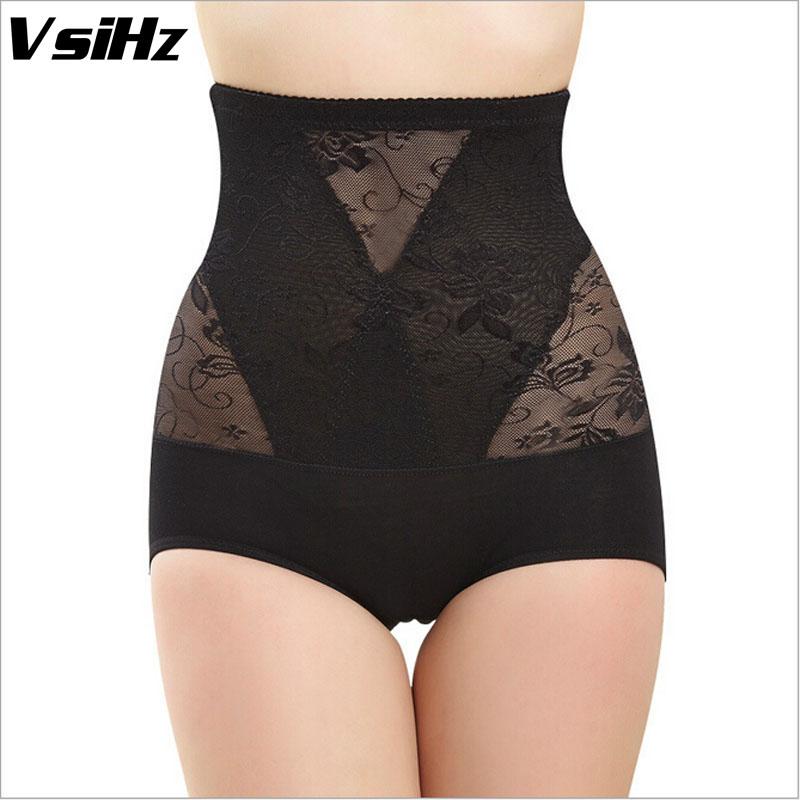 Women Sexy Height waist Lace Thin Shapers Underwear Training Bodysuit Girdles control panties Plus Size M-XXXL(China (Mainland))