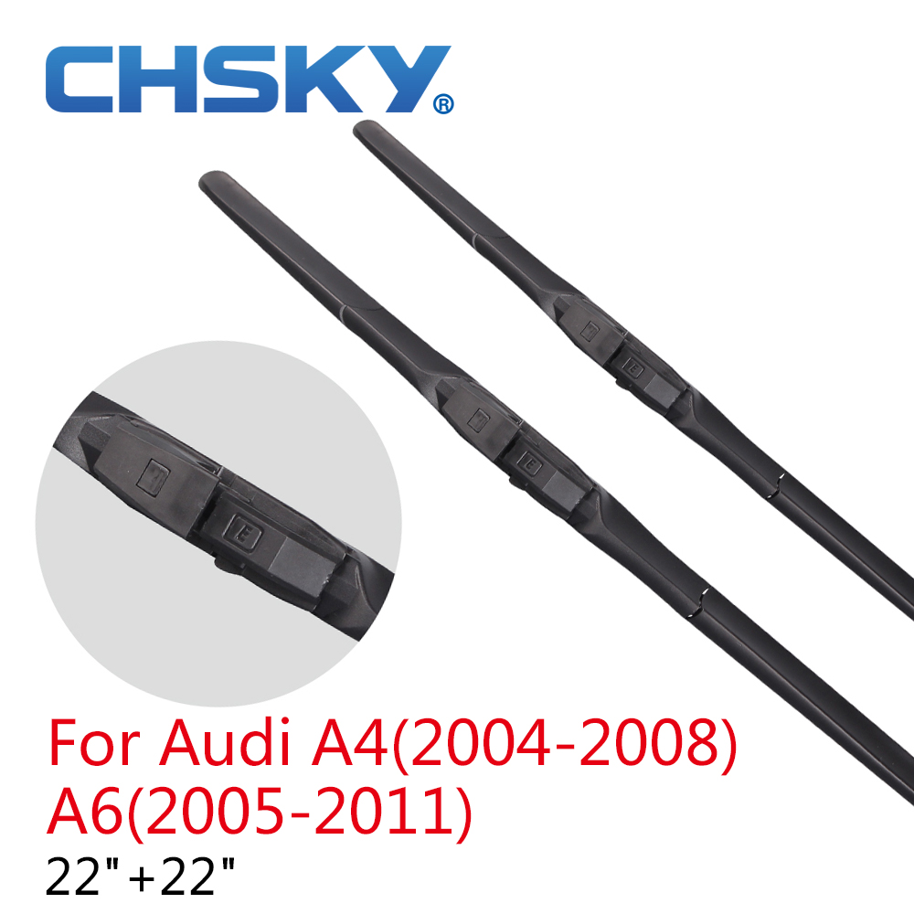 Aliexpress.com : Buy CHSKY Wiper Blades for Audi A4(2004 2008) A6(2005 2011) from Reliable wiper ...