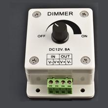 Hot Sale! High Quanlity 12V 8A 96W PIR Sensor LED Strip Light lamps Switch Dimmer Brightness Controller High Quanlity Wholesale
