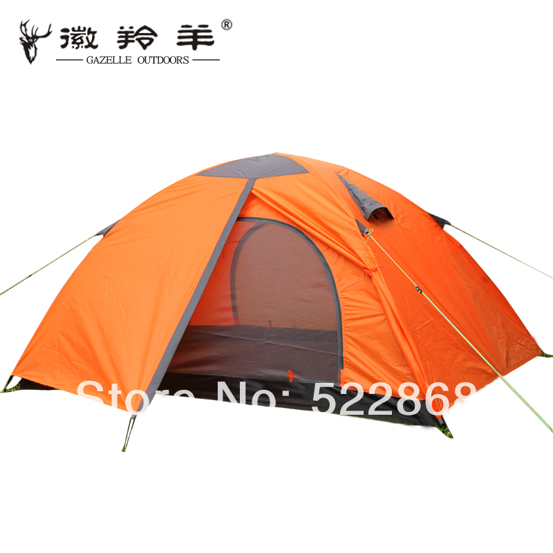 Good quality double layer aluminum pole 2 person waterproof camping tent bivvy gazebo<br><br>Aliexpress