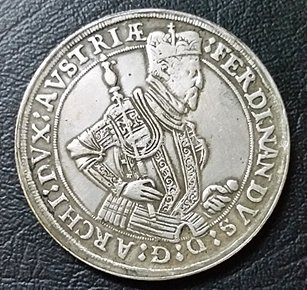 Austria: years:( 1564-1595 ) 1 Taler - Ferdinand II hall mint Coin exact Copy(China (Mainland))