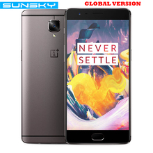 Original OnePlus 3T A3003 1920*1080p 5.5 inch Snapdragon 821 Quad Core Smartphone 6GB RAM 64GB ROM Touch ID 16.0MP NFC Mobile Phone - Sunsky store