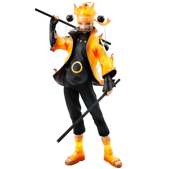 Action figure Naruto Uzumaki six immortal mode cartoon doll PVC 21cm box-packed japanese figurine world anime new arrive 160501(China (Mainland))