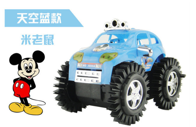 Baby Flip Toy Car Child Skip Stunt Car Toys Kid Dump Truck & Toy vehicles Classic Electronic Cars For Kid Gift(China (Mainland))