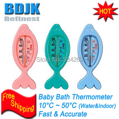 Baby Bath Thermometer with Cartoon and Colorful Picture Temperature Measuring(China (Mainland))