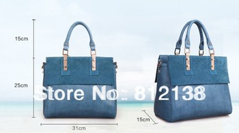 2013 new arrival Wholesale High quality classic leather handbags Shoulder Messenger portable style,HS-BAG011