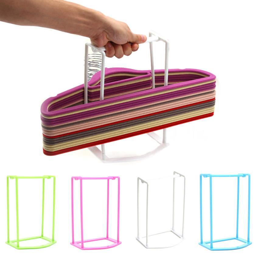 Super Deal Plastic Hangers shelf Creative Finishing Frame Hanger Companion Storage Rack XT(China (Mainland))
