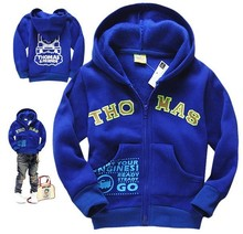 ZX051,free shipping!2015 new arrive Children Coat cotton hoody casual boy hooded jacket  Kid Clothes wholesale and retail(China (Mainland))