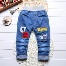 2016 New 2-5 Years summer Spring baby boys jeans pants autumn children jeans kids child denim pants kids trousers Free shipping(China (Mainland))