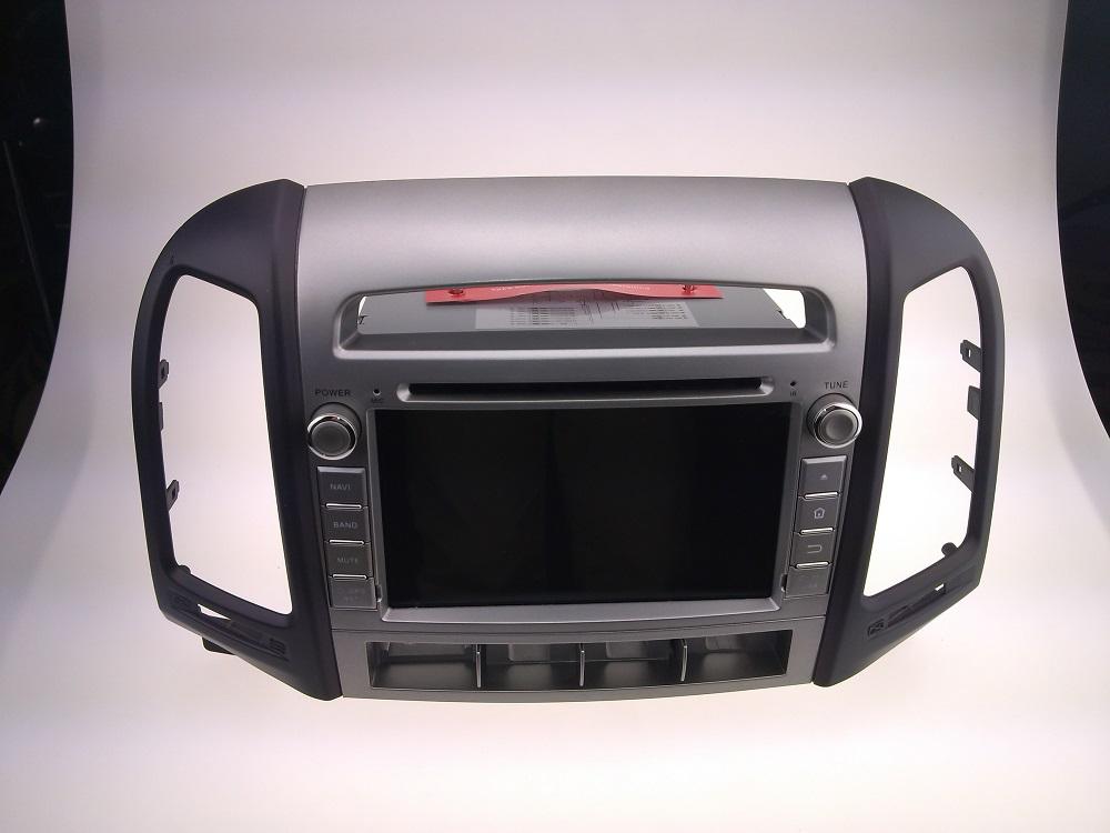 Car dvd GPS Navigation player for SANTA FE 2006-2011 7 inch E