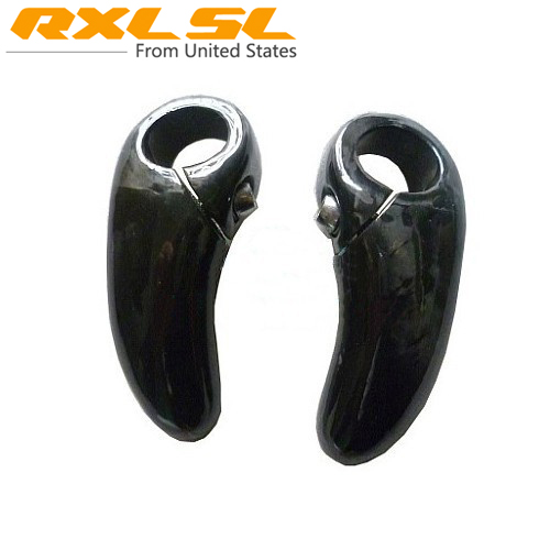 Carbon MTB/Road Bike Bar Ends Handlebar RXL SL No Logo Bar Ends Carbon MTB Bike Road Bicycle Bar ends UD Gloss 108g Ultra light(China (Mainland))