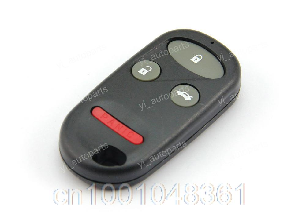 Remote key blank shell case fob cover replacement fit for for Honda replacement key cost