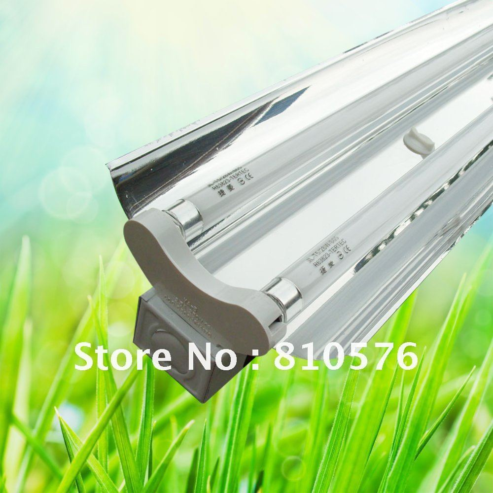 Free shipping. T5 industrial lighting fixture 2*28W 1200mm T5 energy saving fluorescent light fixture mirror cover(China (Mainland))