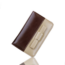 Women Wallets 2016 PU Leather Hasp Famous Brand Coin Purses Holders Female Clutch Pocket Hasp Double Line Casual Women's Wallets