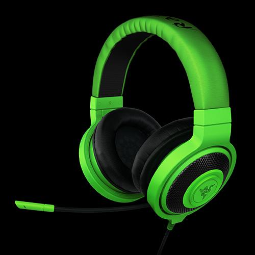 Brand Razer Kraken Pro Gaming Headset Game Headphone Computer Headphones Noise Isolating Earbuds Green Black White Colors
