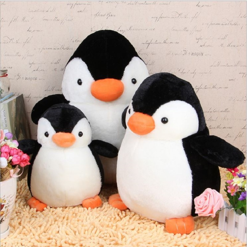 1pcs 20cm Cute Penguin Kids Plush Toy Stuffed Animal Soft Toy Baby Sleeping Doll Pillow Cushion Gift #ML0221(China (Mainland))