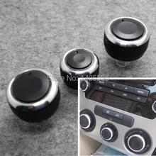 Air Conditioning heat control Switch AC Knob for Bora Golf 5 Tiguan Touran Passta B6 B7 Jetta MK5 MK6/Skoda Octavia(China (Mainland))