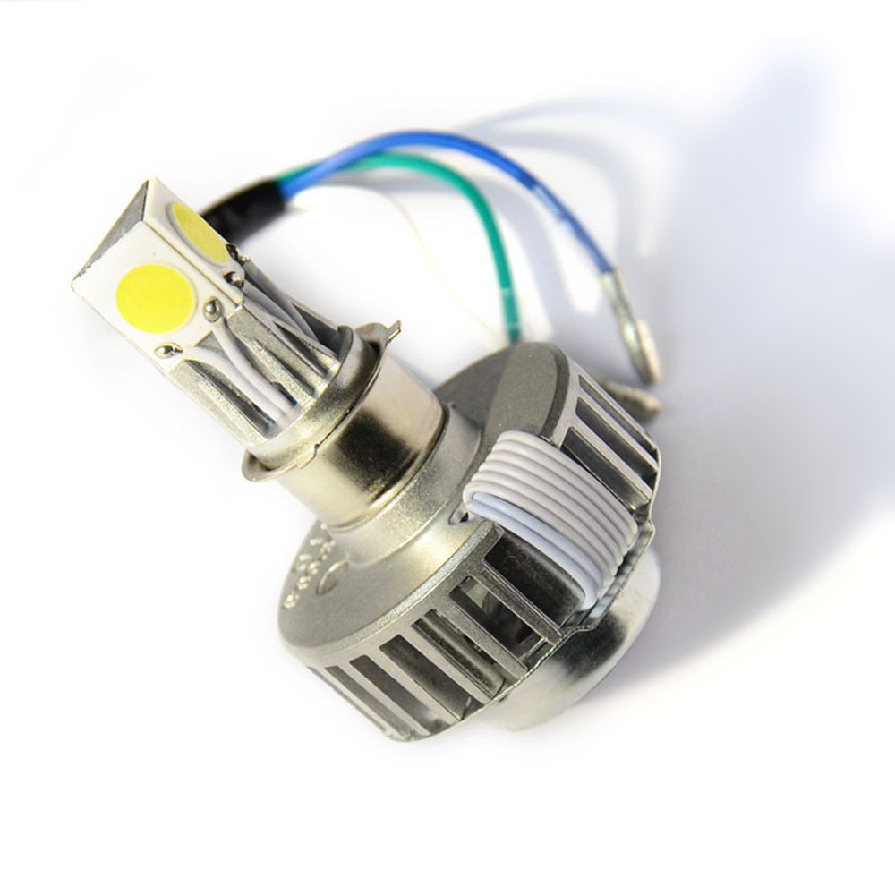 H4 H6 PH7 PH8 18W 1800LM LED Motorcycle Headlight Far Light Conversion Kit Headlamp Beam Bicycle motorbike Headlamp DRL Moto kit(China (Mainland))
