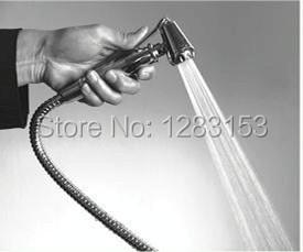new sale high quality 100% copper toilet spray   1.2m chrome shower hose for  Women Handheld Bidets kits Portable Spray  Holder <br><br>Aliexpress
